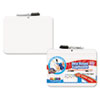 The Board Dudes Double-Sided Dry Erase Lap Board with Marker, 12 x 9, White