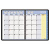 AT-A-GLANCE® QuickNotes Recycled Monthly Planner, Jan.-Dec., Black, 8 1/4