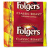 Folgers Coffee, Classic Roast, 0.9 oz Fractional Packs, 36/Carton