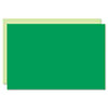 Eco Brites Too Cool Foam Board, 20x30, Light Green/Green, 5/Carton