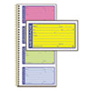 Adams® Wirebound Telephone Message Book, Two-Part Carbonless, 200 Forms