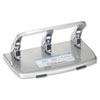 CARL® 40-Sheet HC-340 Heavy-Duty Three-Hole Punch, 9/32