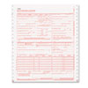 Paris Business Products CMS Forms, 1 Part Continuous White, 9 1/2 x 11, 2500 Forms