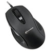 Innovera® 6 Button Ergonomic Laser Mouse w/USB Connectivity, Black