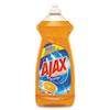 Ajax® Dish Detergent, Liquid, Antibacterial, Orange, 30 oz Bottle, 9/Carton