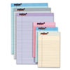 TOPS Prism Plus Colored Junior Legal Pads, 5 x 8, Pastels, 6 50-Sheet Pads/Pack