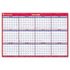 AT-A-GLANCE® Recycled Vertical/Horizontal Erasable Wall Planner, 24