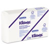 KLEENEX SLIMFOLD Hand Towels, White, 90/Pack, 24 Packs/Carton
