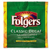 Folgers® Coffee Filter Packs, Decaffeinated, In-Room Lodging, .9 oz, 200/Carton