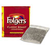Folgers Coffee Filter Packs, Regular, In-Room Lodging, .6 oz., 200/Carton