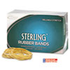 Alliance Sterling Ergonomically Correct Rubber Bands, #117B, 7 x 1/8, 250 Bands/1lb Box