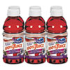Ocean Spray® 100% Juice, Cranberry Grape, 10oz Bottle, 6/Pack