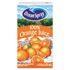 Ocean Spray® Aseptic Juice Boxes, 100% Orange, 4.2 oz, 40 per Carton