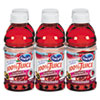 Ocean Spray 100% Juice, Cranberry Pomegranate, 10 oz. Bottle, 6 per Pack