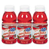 Ocean Spray® 100% Juice, Cranberry, 10 oz. Bottle, 6 per Pack