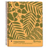 Oxford® Envirotec Subject Notebook, College/Med Rule, 8-7/8 x 11, WE, 100 Sheets