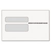 TOPS® Double Window Tax Form Envelope for W-2 Laser Forms, 9x5-5/8, 50/Pack