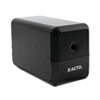 X-ACTO® Model 1800 Series Desktop Electric Pencil Sharpener, Charcoal, Black