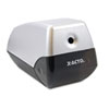 X-ACTO® Model 1900 Desktop Electric Pencil Sharpener, Silver/Black