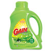 Gain® Liquid Laundry Detergent, Original, 50oz Bottle, 6/Carton