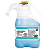 Diversey™ Crew Non-Acid Bowl & Bathroom Disinfectant Cleaner, Floral, 47.3oz, 2/Carton