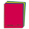 Oxford® Wirelock Subject Notebook, Quadrille Rule, 8-1/2 x 11, WE, 80 Sheets/Pad