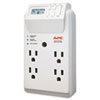 APC® Power-Saving Timer Essential SurgeArrest Surge Protector, 4 Outlets, 1020 J