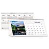 House of Doolittle™ Scenic Photos Desk Tent Monthly Calendar, 8-1/2 x 4-1/2, 2016