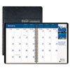 House of Doolittle™ Earthscapes Full-Color Monthly Planner, 8-1/2 x 11, Black, 2014-2015