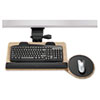 Ergonomic Concepts™ Bamboo Keyboard Platform with Reflexive Mechanism, 22w x 11d, Black