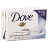 Dove® White Travel Size Bar Soap with Moisturizing Lotion, 2.6oz, 36/Carton