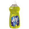 Joy® Dishwashing Liquid, Lemon, 12.6oz Bottle, 25/Carton