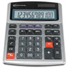 Innovera 15971 Large Digit Commercial Calculator, 12-Digit LCD, Dual Power, Silver