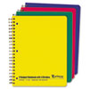 Oxford® Wirebound Multi-Subject Notebook, College Rule, Letter, White, 240 Sheets