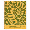 Oxford® Autumn Leaf Wirebound Notebook, College/Med Rule, 8-1/2 x 11, White, 80 Sheets