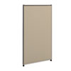 HON® Versé Office Panel, 24w x 42h, Gray
