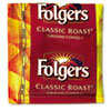 Folgers Coffee, Fractional Pack, Classic Roast, 1.5 oz, 42 per Carton