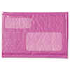 Scotch® Plastic Bubble Mailer, Side Seam, #0, 6 x 9, Pink, 6/Pk