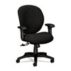 HON® Unanimous Mid-Back Task Chair, Iron Gray Fabric