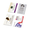 Day-Timer® Business Card Holders for Looseleaf Planners, 5 1/2 x 8 1/2, 5/Pack