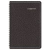 DayMinder® Recycled Weekly Appointment Book, Black, 4 7/8