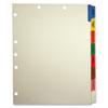 Tabbies® Medical Chart Divider Sets, Side Tab, 9 x 11, 40 Sets/Box