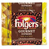 Folgers Coffee, Fractional Pack, Gourmet Supreme, 1.75 oz, 42 per Carton