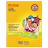 Kodak Photo Paper, 6.5 mil, Glossy, 8-1/2 x 11, 100 Sheets/Pack