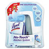 LYSOL® Brand No-Touch Kitchen System, 8.5oz, Plastic, Berry
