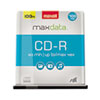 Maxell® CD-R Discs, 700MB/80min, 48x, Spindle, Silver, 100/Pack