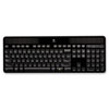 Logitech® Wireless Solar Keyboard for Mac, Full Size, Silver
