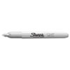 Sharpie® Metallic Fine Point Permanent Markers, Bullet Tip, Silver, Dozen