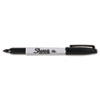 Sharpie® Permanent Marker, Fine Point, Black, Dozen