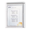C-Line® Cubicle Keepers, Velcro-Backed Display Holders, 8 1/2 x 11, Clear, 2/Pack